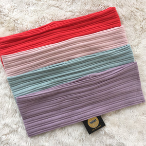 Pinstripe Ribbed Bands (Standard/Wide)