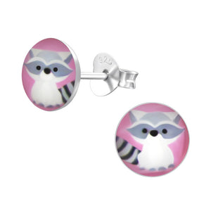 Rosie Raccoon Earrings