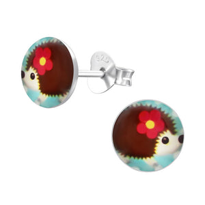 Hallie Hedgehog Earrings