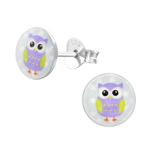 Olivia Owl Earrings