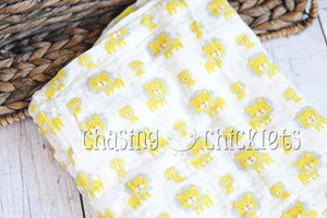 Little Lion Swaddle Blanket