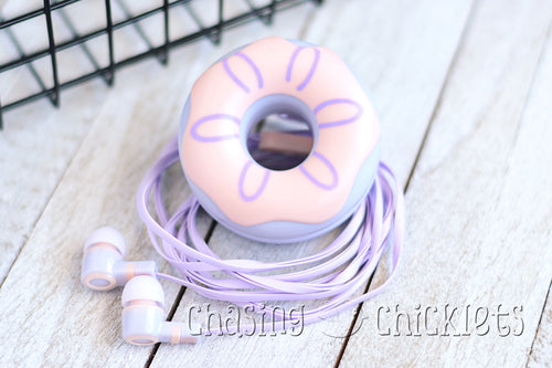 Huckleberry Twist - Donut Ear Buds