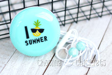 Summer Pineapple Ear Buds