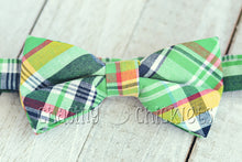Poppin' Plaid Bow-Ties : Go-Go Green