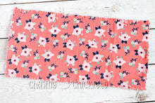Coral Floral Baby Items