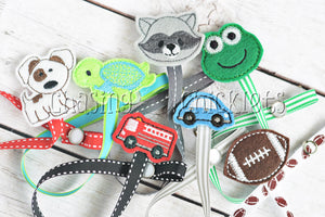 Pacifier/Teether Clips! for Boys