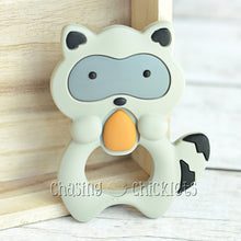 Raccoon Silicone Teether