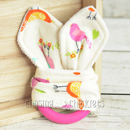Bright Birds Teether