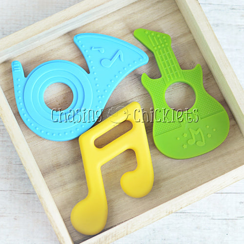 Rock On  Teether Set