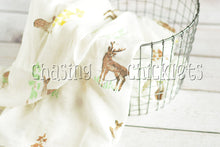 Woodland Deer Muslin Swaddle
