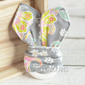 Paisley Floral Teether