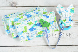 Green Dino Baby Items