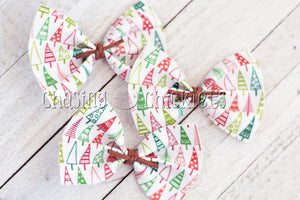 Christmas Hair Bow Collection