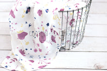 Plum Perfect Muslin Swaddle