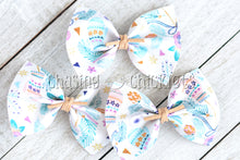 Winter Hair Bows