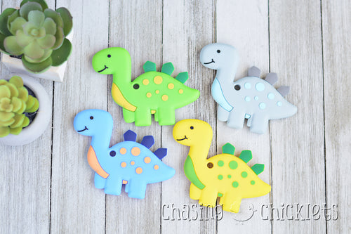 Dinosaur Silicone Teethers