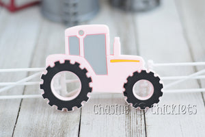 Tractor Silicone Teethers!