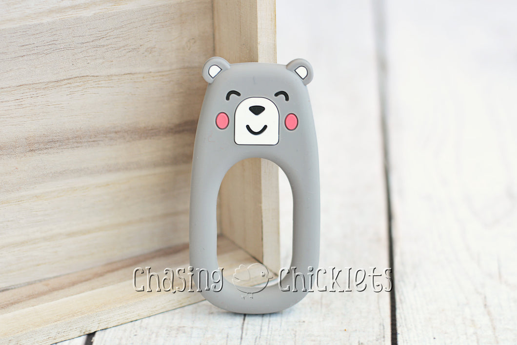 Baby Bear Silicone Teether