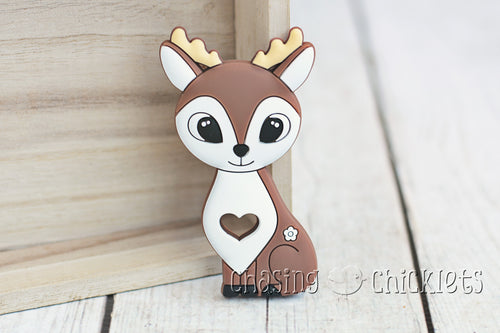 Daisy Deer Silicone Teether