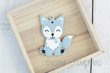 Sleepy Fox Silicone Teether