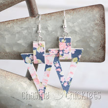 Triangle Loop Earrings