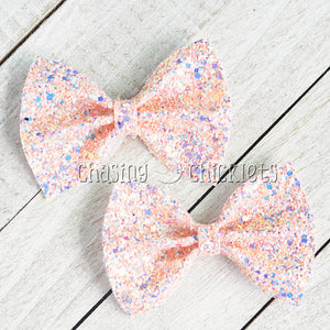 Multi Glitter Hair Bows
