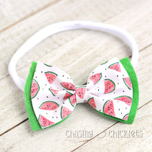 Watermelon Bliss Hair Bow