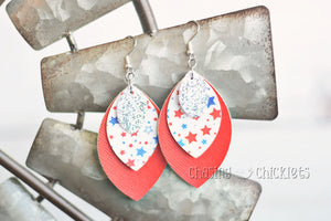 4th of July Earrings