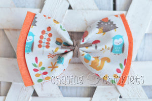 Hello Fall! Hair Bows