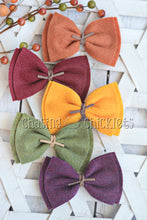 Fall Felt Bow Set
