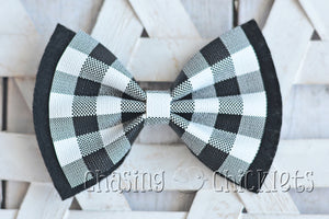 Buffalo Check Hair Bows