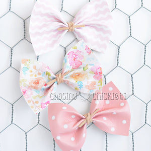 Pretty in Pink Bow Set