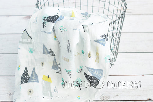 Home Muslin Swaddle
