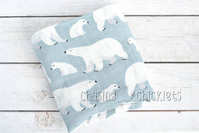 Polar Bear Muslin Swaddle