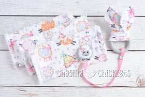 Fluffy Lamb Baby Items