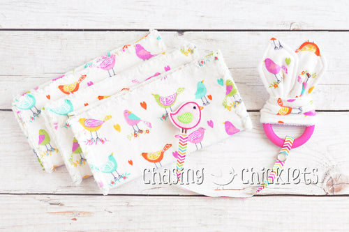 Bright Birds Baby Items