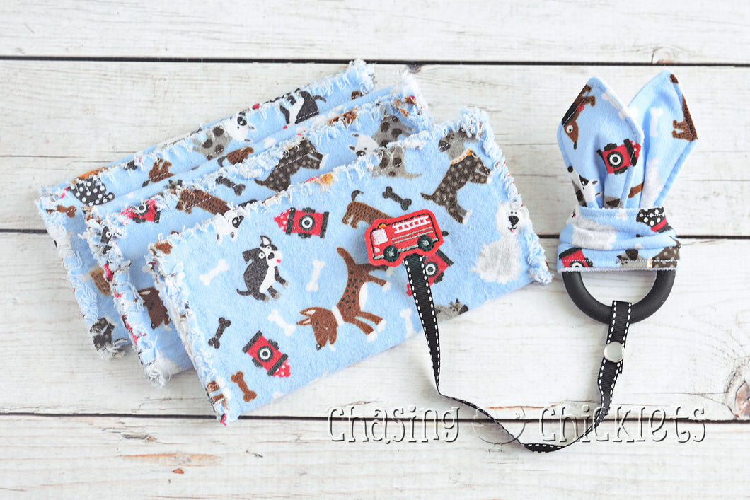 Pup & Fire Truck Baby Items
