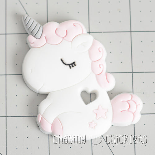Baby Unicorn Silicone Teether