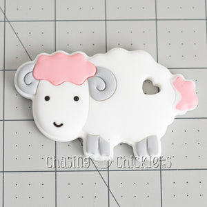 Lamb Silicone Teether