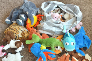Stuffed Animal Storage Seat