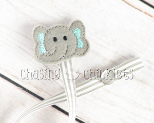 Teal Elephant Baby Gift Set
