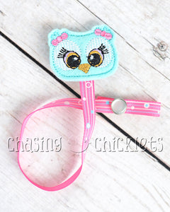 Pacifier/Teether Clips! Owls!