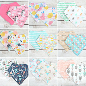 Drool Bibs for Girls