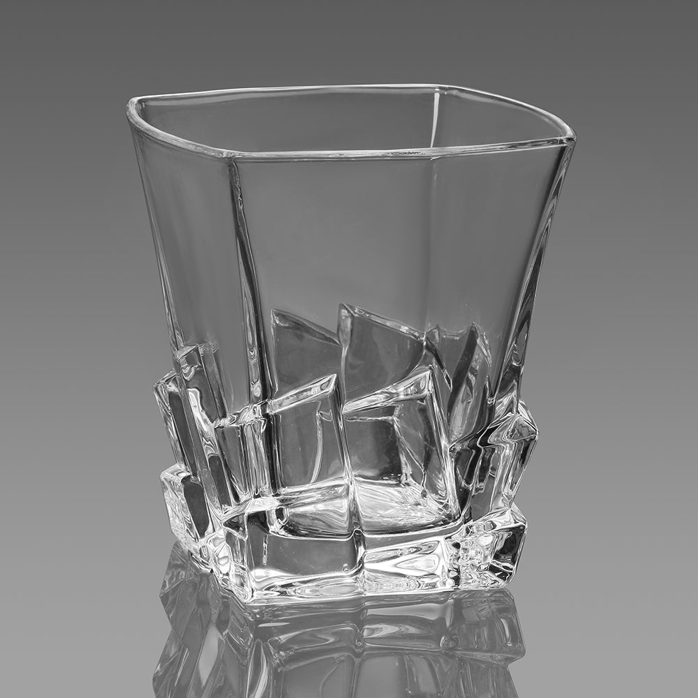 Cracked Ice Whiskey Glass - Home Harmony