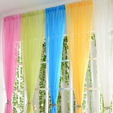 Window Curtains Color