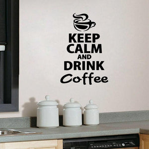 Coffee Kitchen Wall Stickers - Home Harmony