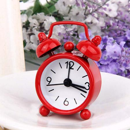 Mini Metal Alarm Clock - Home Harmony