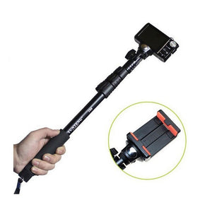 Yunteng 188 Monopod All Digital SLR DSLR Cameras Smartphone Mobile Cell Phones Portable Extendable Handheld Telescopic Monopod