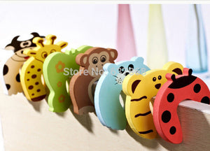 5PC lovely 7 styles cartoon baby safety door stopper holder lock baby care protection edge corner guard protector
