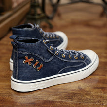 WEST SCARP New Men Shoes Winter High Top Sneakers Men Canvas Shoes, Brand Casual Men Shoes Sapato Masculino Plus Size 39-44